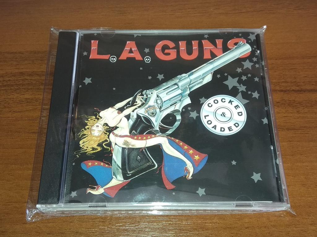 L.A. Guns – Cocked & Loaded (CD, Reissue, Буклет) USA