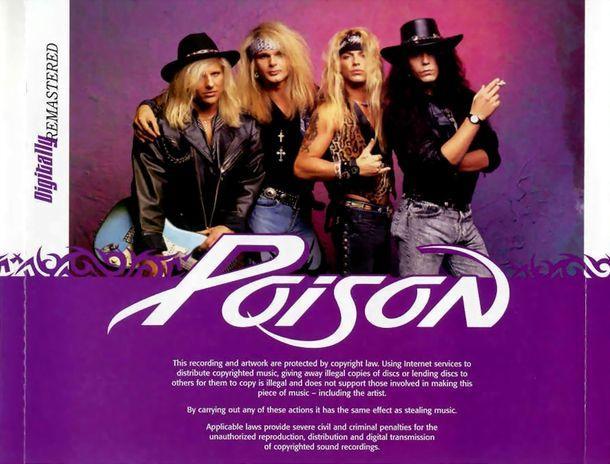 Poison - Flesh & Blood (CD, Reissue, Remastered, Буклет) USA 2006