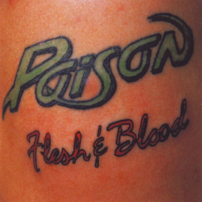 Poison - Flesh & Blood 1990/2006 (Made In USA), CD, Remastered, Буклет