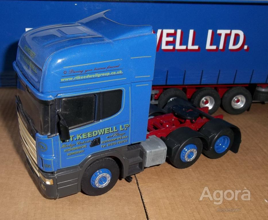 1/43 SCANIA 124L 420, 6x2,Eligor-Search Impex, Англия