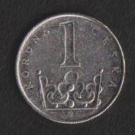 Чехия 1 крона 2003 г