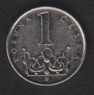 Чехия 1 крона 2006 г
