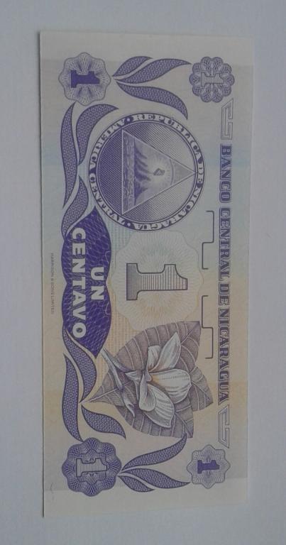 Никарагуа 1 центаво