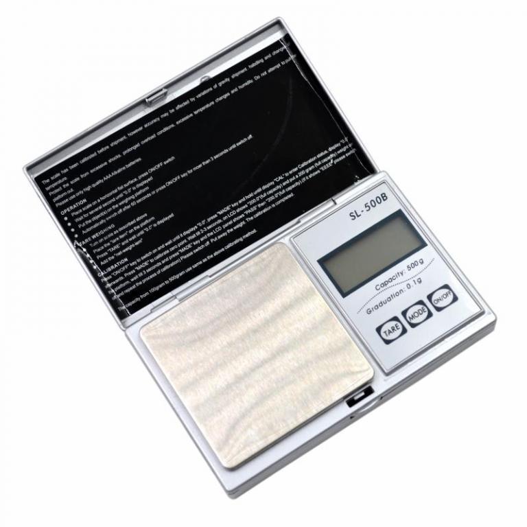 Весы SL-500B портативные 0,1-500г