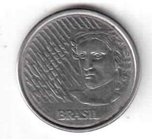 Бразилия 10 сентов 1994 год