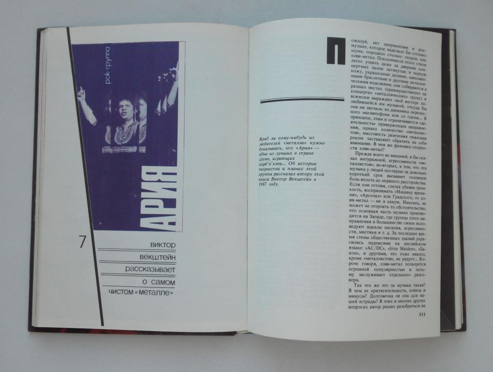 Книга - Рок в Нескольких Лицах (Евгений Фёдоров), Молодая Гвардия 1989 год.