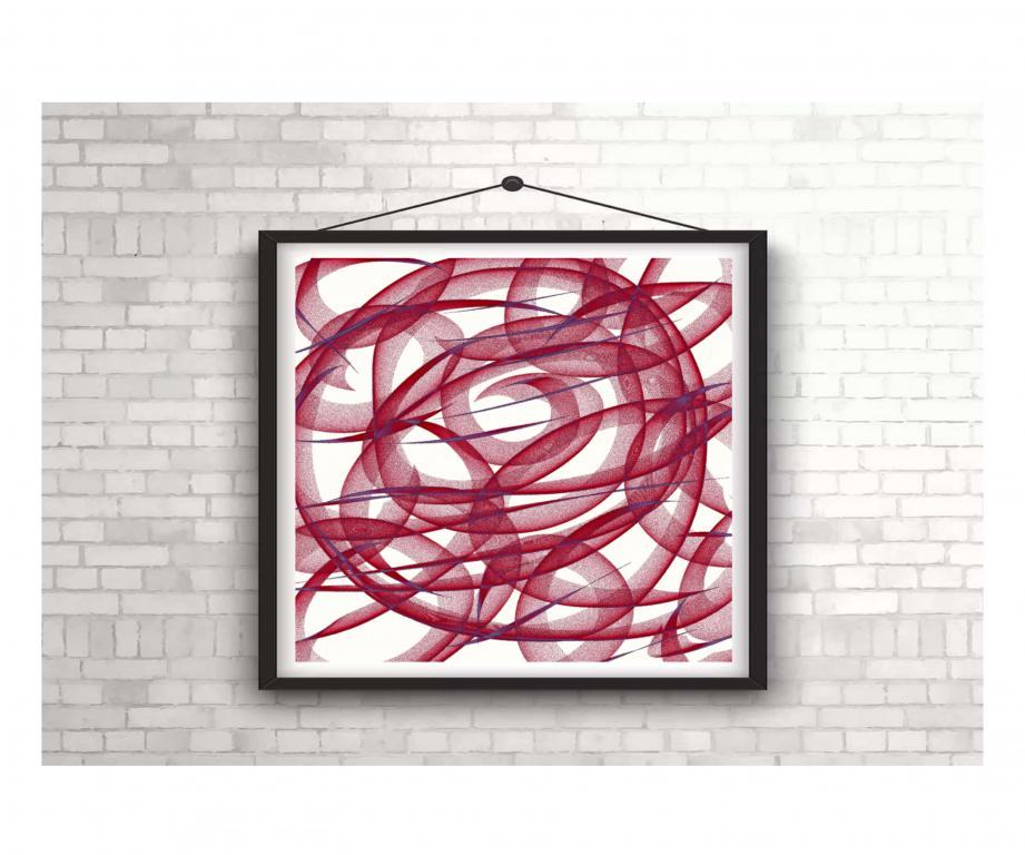 "Картина ""Спираль жизни"""
