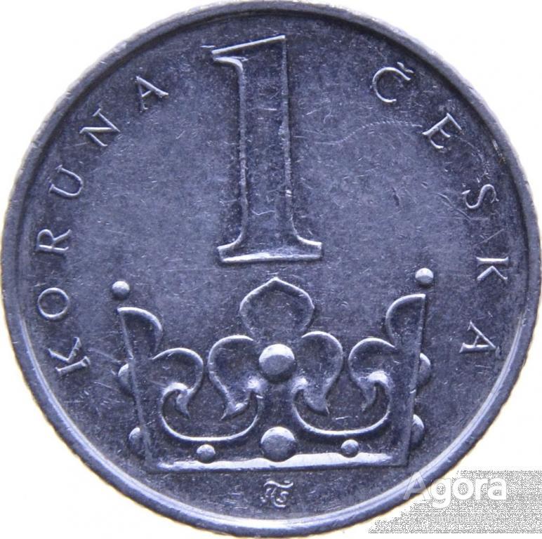 Чехия 1 крона 2009
