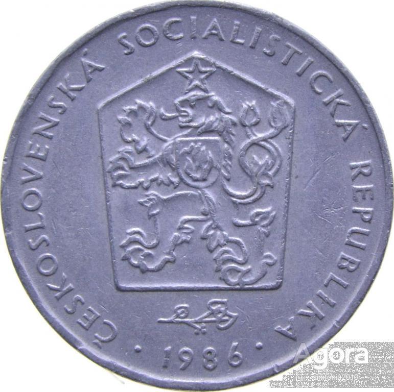 Чехословакия 2 кроны 1986