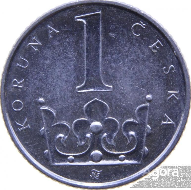 Чехия 1 крона 2002