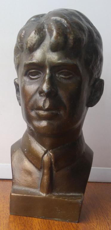 Бюст Статуэтка Есенин высота 18 см. скульптор Елецкий