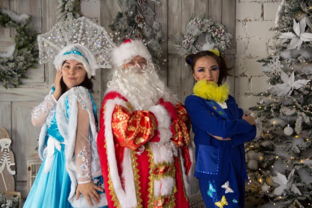 Новогодняя волшебно-развлекательная шоу программа для детей.