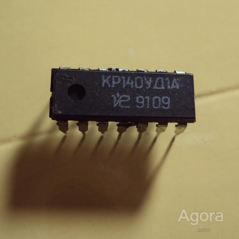 Микросхема КР140УД1А.