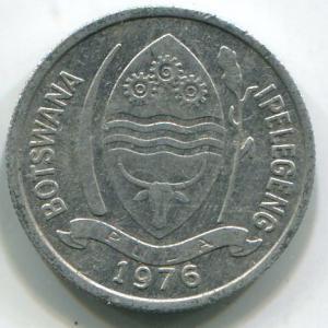 Ботсвана, 1 тхебе 1976г.