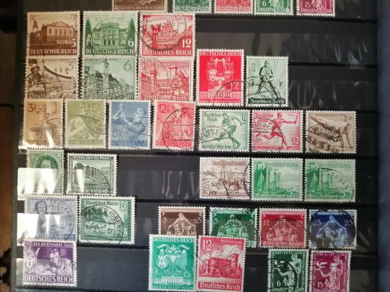 Почтовые марки 3 рейха