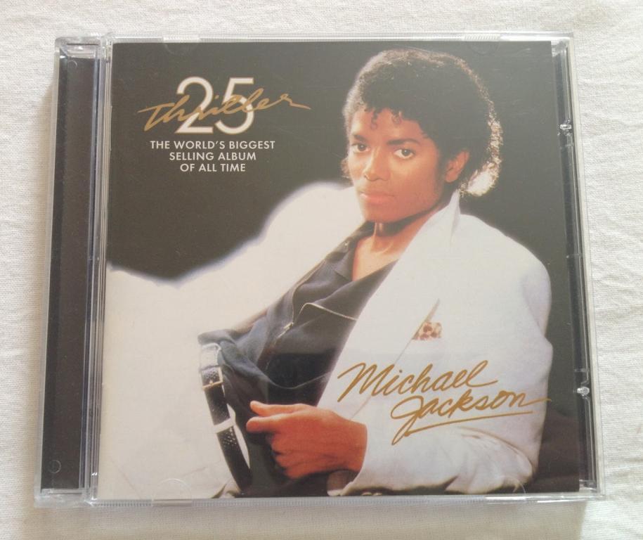 Michael Jackson – Thriller 25th Anniversary Edition (CD, Reissue, Remastered, Буклет) Russia 2014