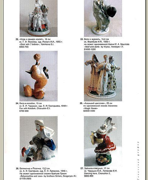 Советский фарфор 1930-80 гг - прайс-каталог - CD