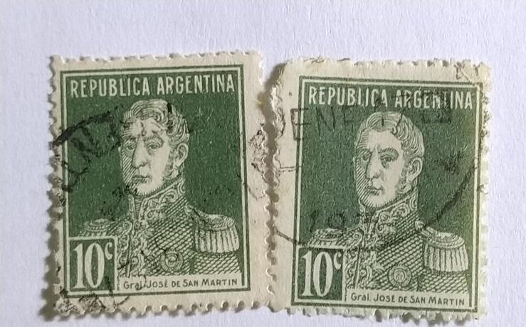 Аргентина  1933 разновидность