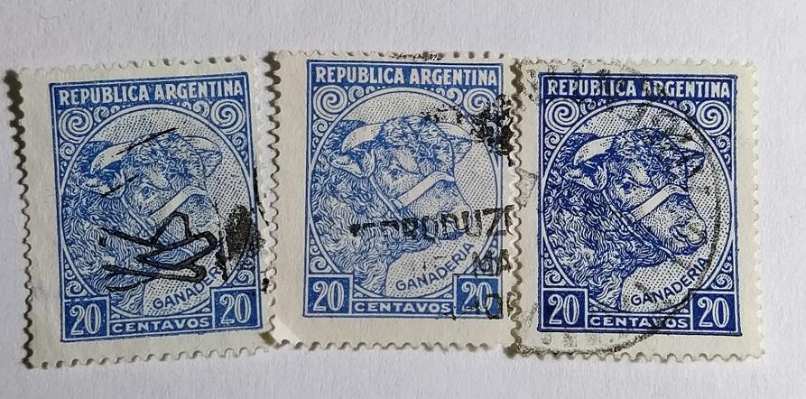 Аргентина  1936 разновидность