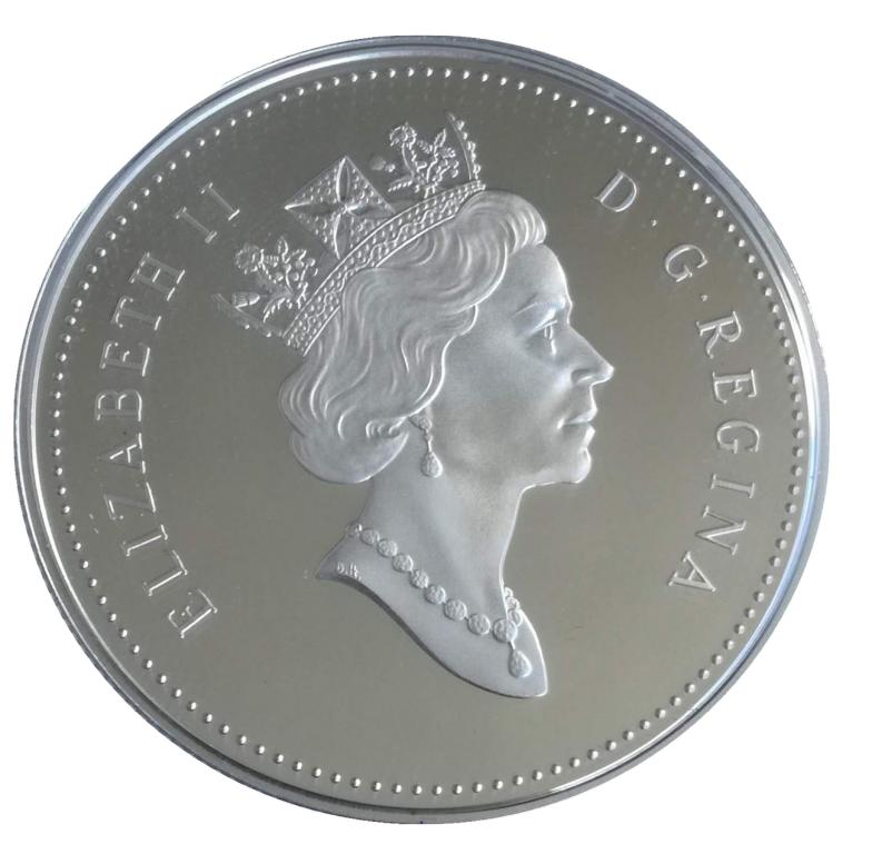 Канада 1 доллар 2001 года PROOF Канадский балет