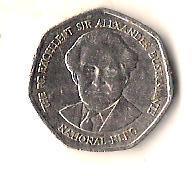 Ямайка 1 доллар, 1996