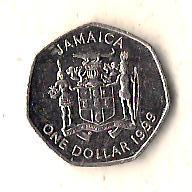 Ямайка 1 доллар, 1999
