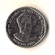 Ямайка 1 доллар, 2012 Круг
