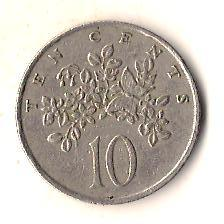 Ямайка 10 центов, 1977