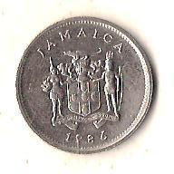 Ямайка 5 центов, 1986