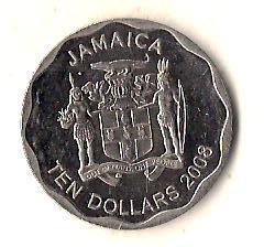 Ямайка 10 долларов, 2008 Круг