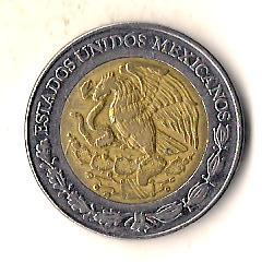 Мексика 5 песо, 2004