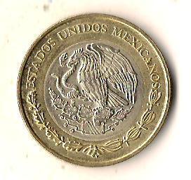 Мексика 10 песо, 2007