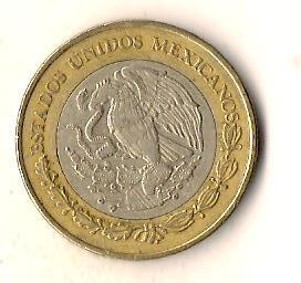 Мексика 10 песо, 2012