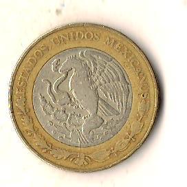 Мексика 10 песо, 1998