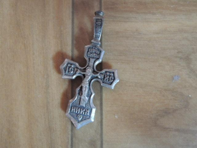серьги позолоченные. ссср.+крестик серебрянный