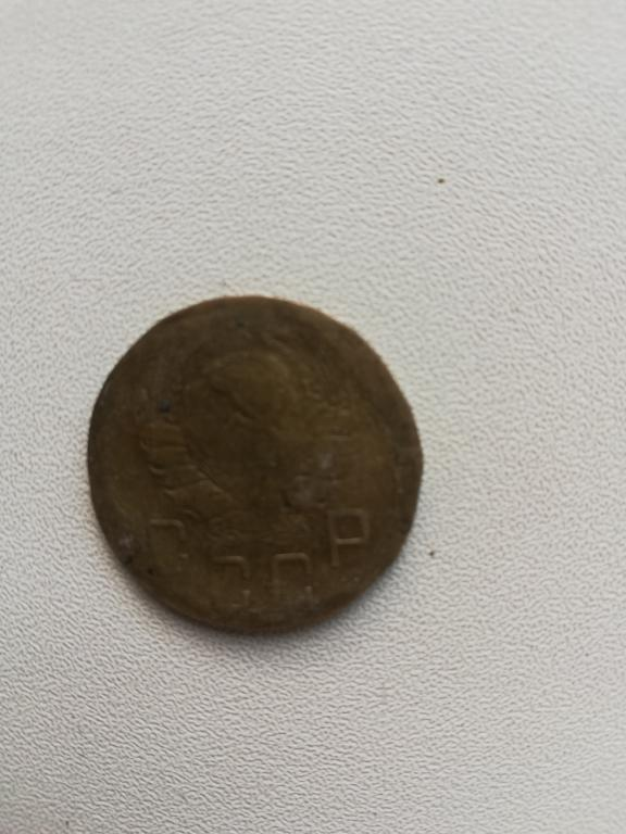 Монета 5 копеек 1940 года