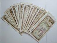 Лот банкнот Югославии 54 штуки, 10 динар 1968, 78, 81 года. Из обращения.
