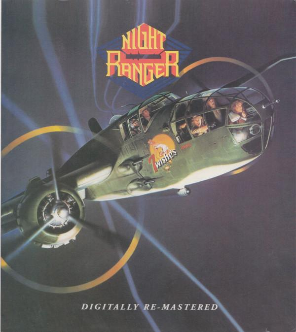 Night Ranger – 7 Wishes (CD, Reissue, Remastered, Буклет, Шубер) England 2006