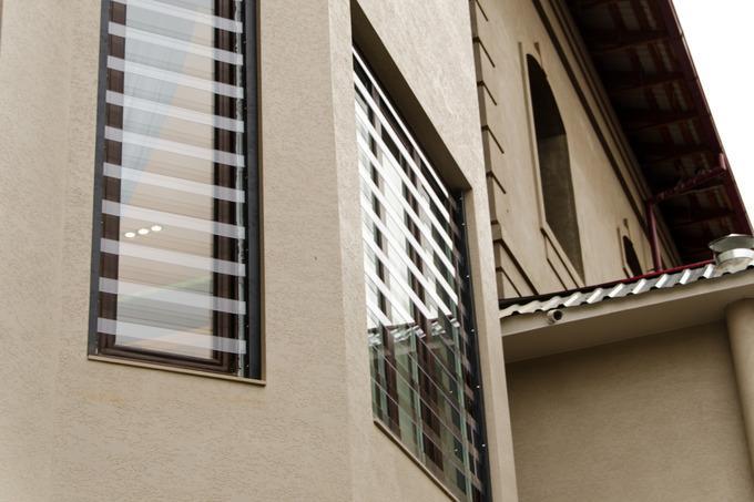 Прозрачные защитные решетки на окна