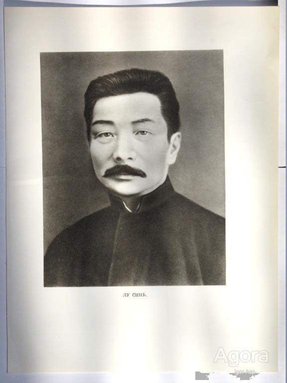 Портрет китайского лидера Лу Синя 中国领导人卢鑫肖像
