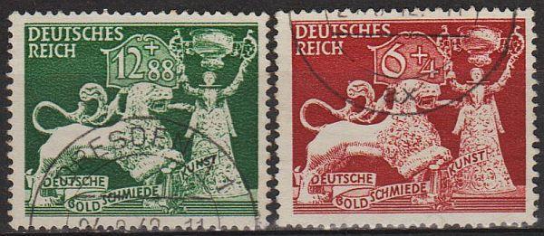 1942 - Рейх - Ювелирное искусство Mi.816-17 _5,0 EU