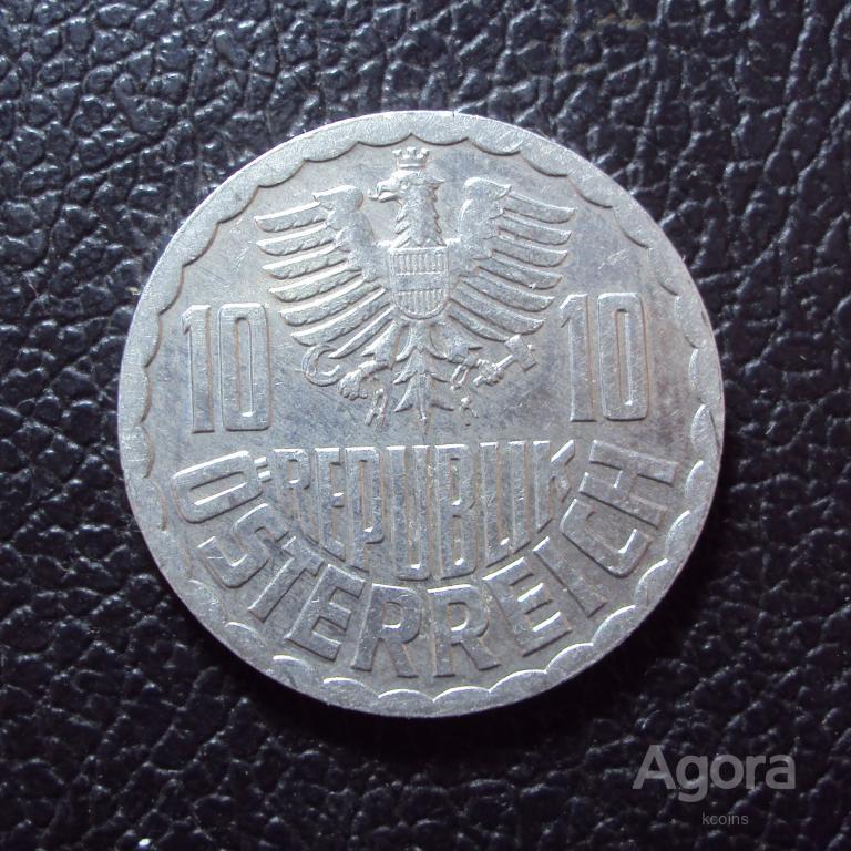 Австрия 10 грошей 1992 год.