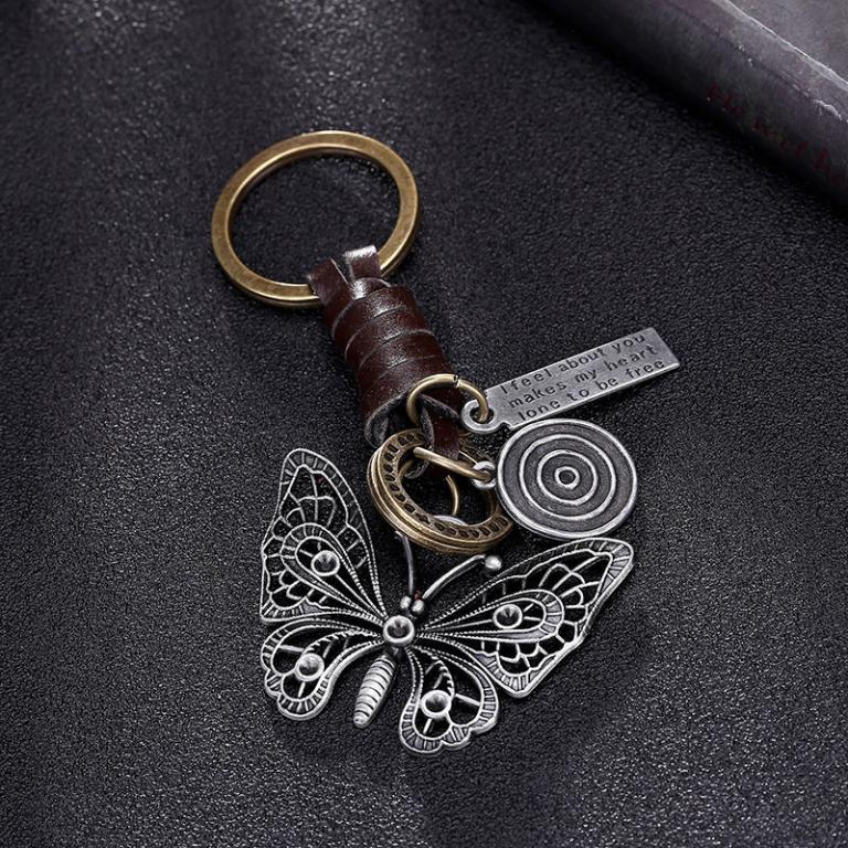На ключи Винтажные кожаные брелоки 9 моделей