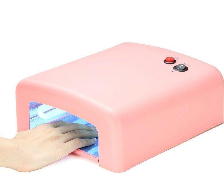 Хит Набор для наращивания ногтей Уф-Лампа