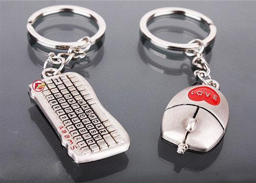 На ключи Парные брелоки брелки для влюбленных