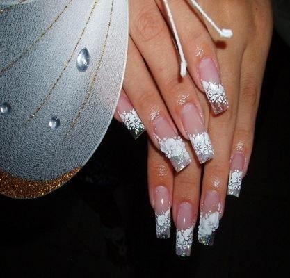 Набор кружева для дизайна ногтей 30 шт.