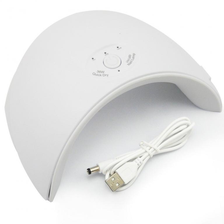 Хит Стартовый набор для маникюра Гель лак , UV/LED лампа 36W