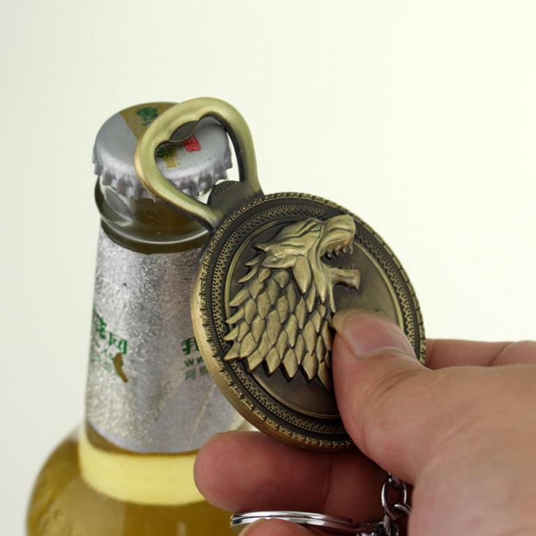 На ключи Брелок - открывашка Игра престолов