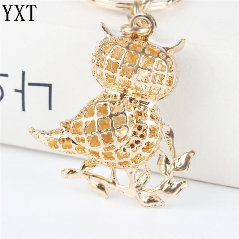 Брелок Белая сова для ключей