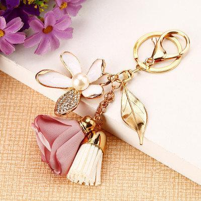 Стильный гламурный брелок 2 цвета Новинка для ключей